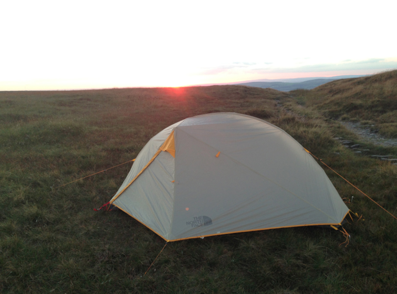 Tent u2013 North Face Mika FL1 single person lightweight tent u2013 review coming soon  sc 1 st  The Martin Cox & A Mini-Adventure. Camping on Snake Pass - The Martin Cox